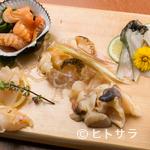 貝料理専門店 磯ばし - 宮城県でも見られないめずらしい貝と出会えることもあります