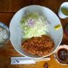 味の杜和み家 - 料理写真:「上ロースカツ定食」