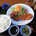 ナンワ - 盛合せ定食 700円