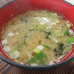 鶴亀屋食堂 - 味噌汁