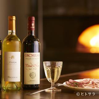 刻々と入れ替わるバリエーション豊かなワイン