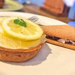 66005049 - 「レモンのチーズタルト」とタルトサンド(ラズベリー)」