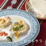 アラビア料理 アルアイン - アラビアパンと共に味わう『3種類のピュレの盛り合わせプレート』