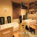 アラビア料理 アルアイン - アラビアンナイトの雰囲気を彷彿させるこだわりの店内
