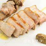 ビストロ シャンパーニュ トレゾール - やまと豚のロースト