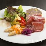ビストロ シャンパーニュ トレゾール - 前菜盛合せ