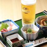 海幸山幸 越中茶屋 - サラリーマンの方やちょっと飲みたい地元の方にも大人気! 『越中おまかせセット』