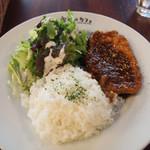 宇田川カフェ - ポークジンジャー