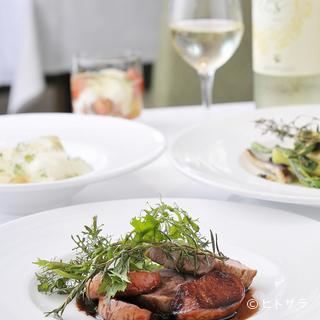 厳選素材を使ったイタリア料理で、素敵な二人のアニバーサリーに