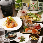 酒蓋屋けん - 日本酒によく合う、工夫を凝らした料理がずらりとラインナップ