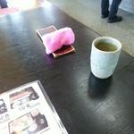 和風れすとらんにしき - ピンクのおしぼりがちょいと可愛い?
