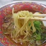 味千ラーメン - 麺