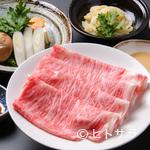 しゃぶ吉 - 目の前で焼き上がるお肉、香りが食欲をくすぐる『すき焼きコース』