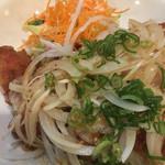 夢の郷 - 野菜たっぷりの鶏の唐揚げプレート