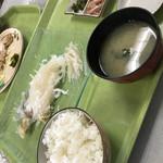 魚いち亭 - 活いか定食