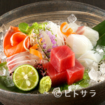 山水草木 - 鮮魚ならではの味わいを楽しめる『お造り盛り合わせ』