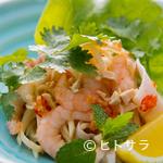 からんころん - タイで人気の『海老と青パパイヤのしゃきしゃきサラダ』