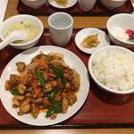 66015641 - 鶏肉の四川炒め650円→500円