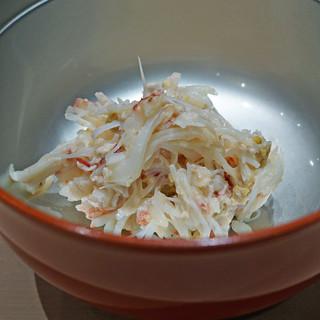 三谷 - 蟹の蟹味噌和え
