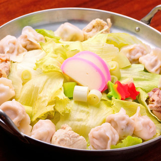 ◆名物「水炊き餃子鍋」「黒豚しゃぶしゃぶ」焼き鳥、馬刺し!◆