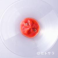 カセント - トマトonトマト。手は加えても味は足さない。良い食材あってこそ