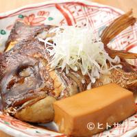 西一条 魚金 - 鮮度の良い真鯛をこっくりと煮詰めた『鯛のカブト煮』