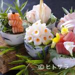 和の食彩 吉楽庵 - 毎朝市場で目利きしたものや、産地直送の新鮮魚介でつくる『おまかせ造り盛り』