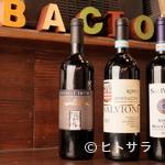 アンティカ オステリア バーチョ - トスカーナワインを中心に500種ほどをストックするワイン