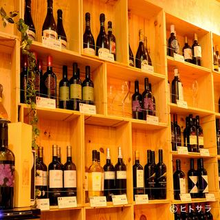 イタリアワイン40種類以上をお手頃価格で