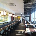 ふれんち茶懐石 京都福寿園茶寮 - おひとりさまでも気軽に座りやすいカウンター席