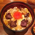 恵比寿 鶏味座 - 究極の親子丼レバー入り1,300円