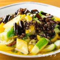 四川家庭料理 珍々 - ズッキーニの素材の旨さを生かした『油淋ズッキーニ』