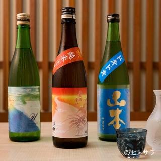 少数仕入れのためメニューに乗らない日本酒もいろいろ