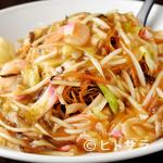大光楼 - 菜種油で揚げた「揚げ麺」は、しつこくなく、さっくりとした食感