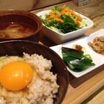 ひょうごイナカフェ - 玉子かけご飯ランチ