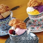 ノイモンド オーガニック カフェ - 忘年会の〆パフェにおすすめ!23:00まで営業しております。