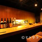 亀甲屋 - カウンター席でゆっくりと、京都ならではの味わいを堪能