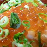 うをひろ - 親子海鮮丼特盛セットアップ