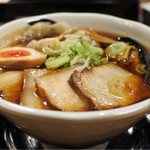 麺屋 団長 - 男の黒ラーメン チャーシュー盛り