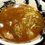 麺屋武蔵 鷹虎 - つけ麺つけ汁アップ‼