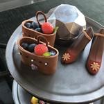 ザ・ラウンジ byアマン - 2人分可愛いチョコレートの靴