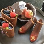 ザ・ラウンジ byアマン - チョコと、フルーツのコラボ♪