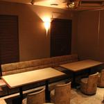 わらべ - 2階の宴会部屋 最大約20人程度可 ※カラオケ有