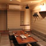 わらべ - 2階の個室 会議や会合に便利 ※カラオケ有