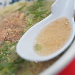 元祖ラーメン長浜家 - スープ