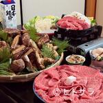 松茸屋魚松 - 甘みが強く柔らかさが特長の近江牛と、全国から選りすぐりの松茸