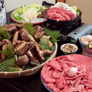 通年で近江牛と松茸が食べ放題客のほとんどが食べ放題目当て