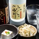 ふぐ乃小川 - 熊本は、食材も水も美味しいところ。お酒も豊富に揃えています