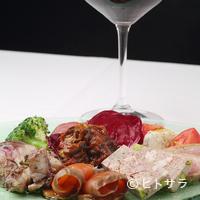 レガリア - 『南イタリア風、前菜の盛り合わせ』