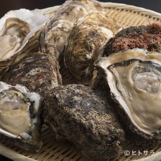 全国各地から届く、新鮮かつ大粒の牡蠣